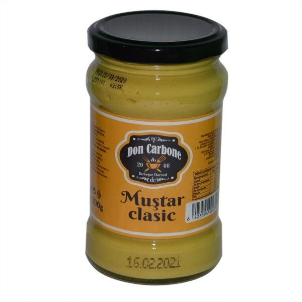 Mustar clasic 300g
